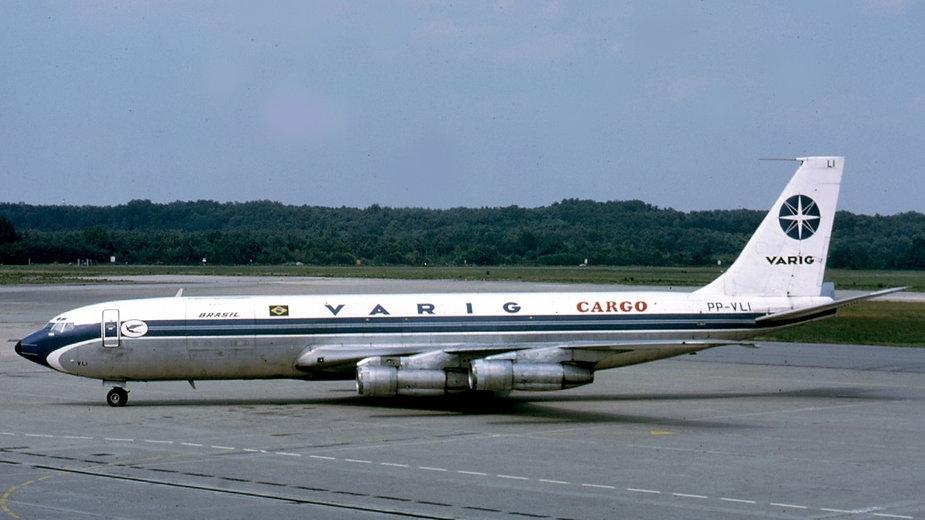 Boeing 707-385C, Varig Cargo