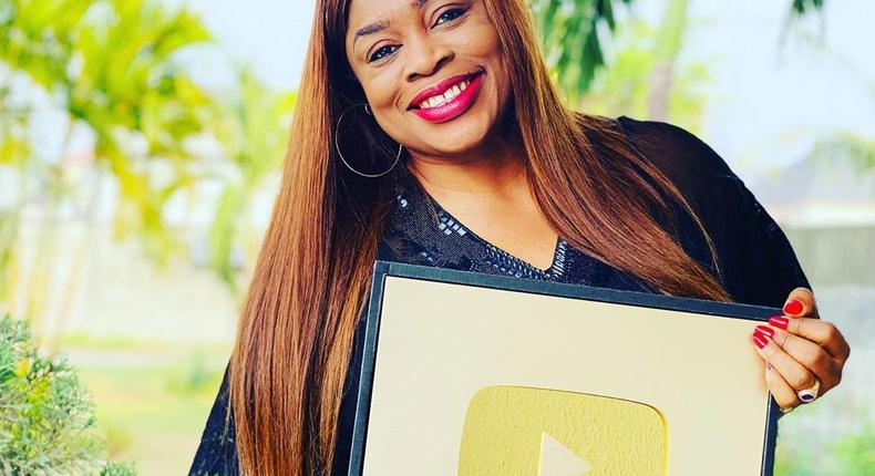 Sinach's 'A Celebration of Joy' concert to stream worldwide exclusively on YouTube on Easter Sunday. (Instagram/Sinach)