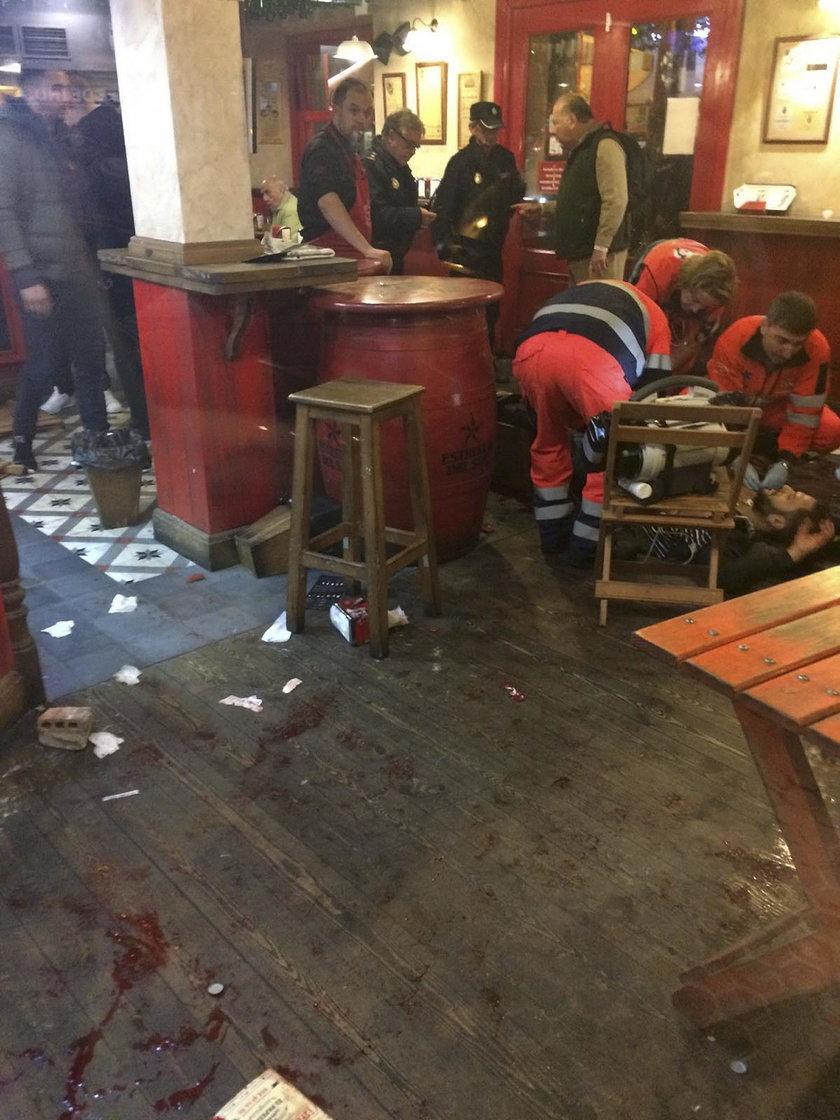 Zamieszki przed meczem w Lidze Mistrzów