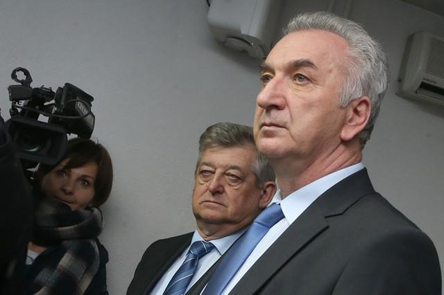 Mićo Mićić i Mirko Šarović