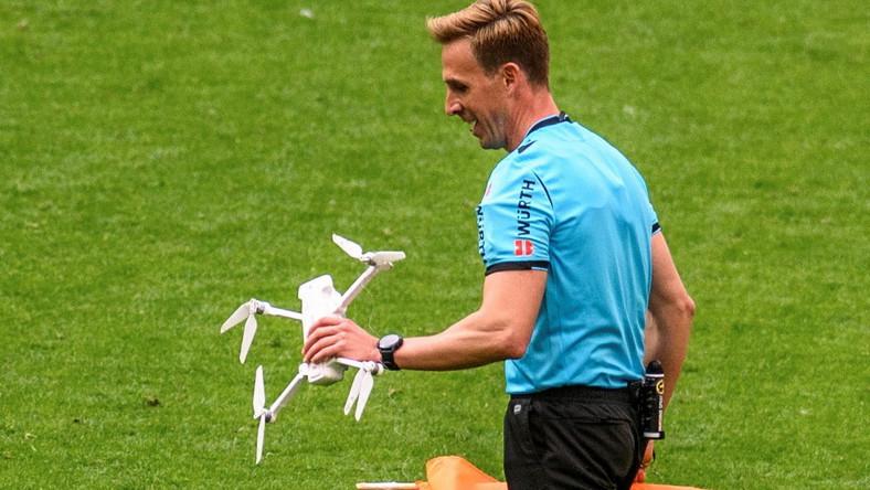 Incydent na meczu w Bilbao