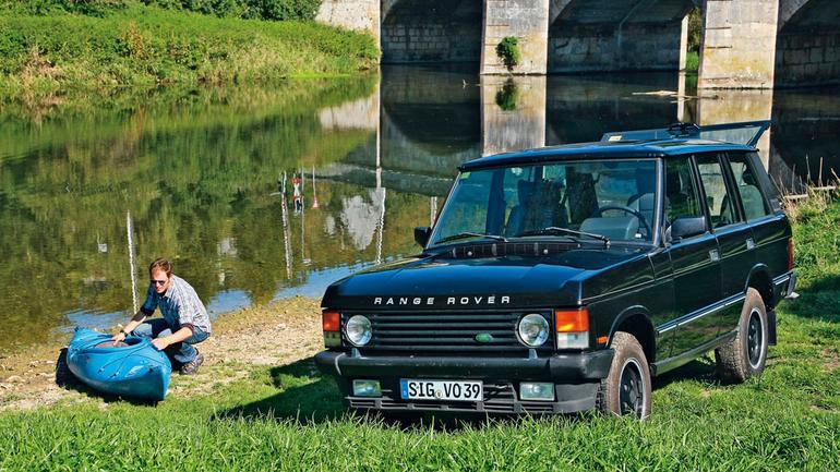 Range Rover - 4x4 wjechało na salony