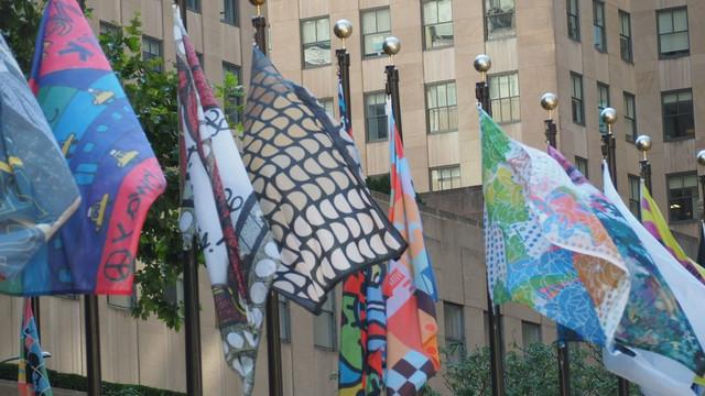 NJegovo idejno rešenje krasi deo ispred ROkfeler centra u Njujorku