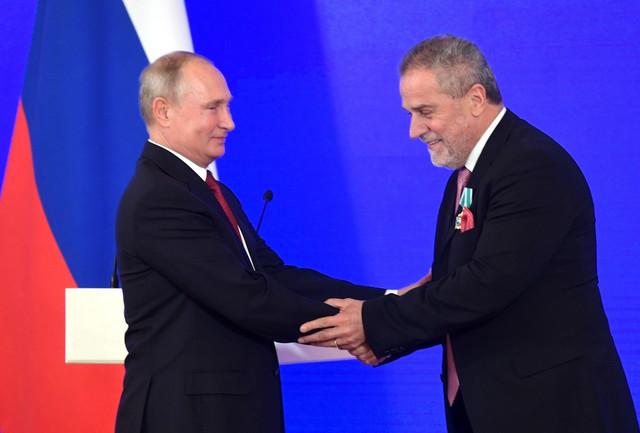 Bandić sa Putinom u Moskvi 2018.