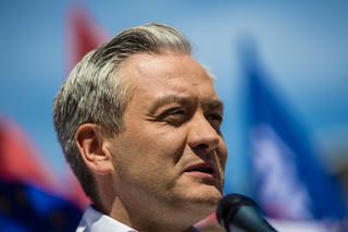 Biedroń: By obalić rządy PiS opozycja musi ze sobą rozmawiać, a teraz współpraca jest szczątkowa