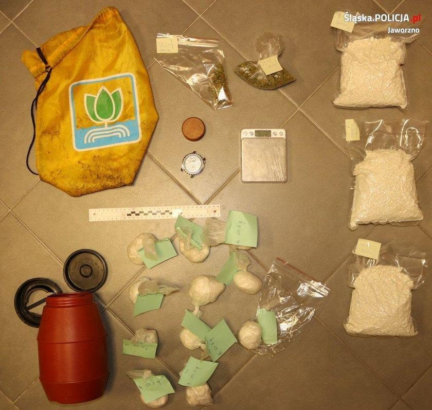 Na Śląsku znaleźli skarb narkotykowego dilera!