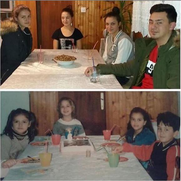 Miodrag, Sara, Ivana i Tanja