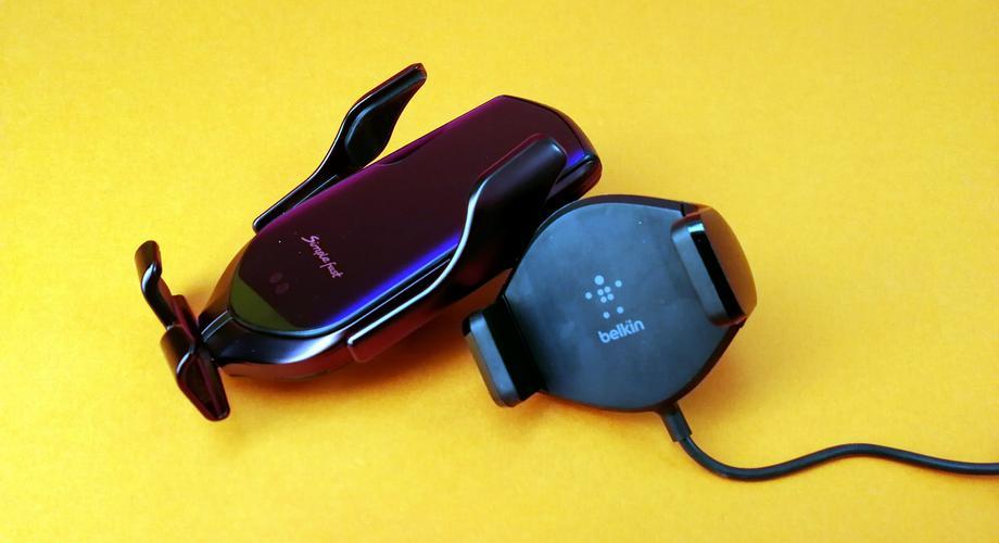 Smartphone-Halterungen mit Qi fürs Auto
