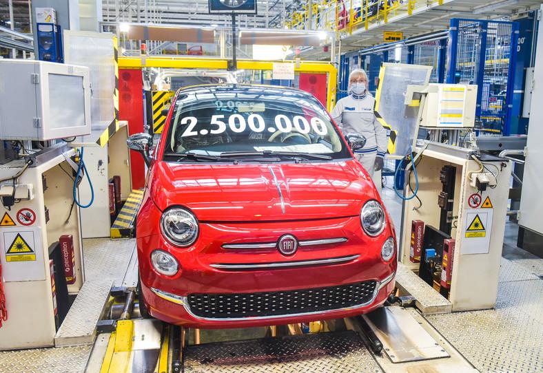 Fiat 500 numer 2 500 000