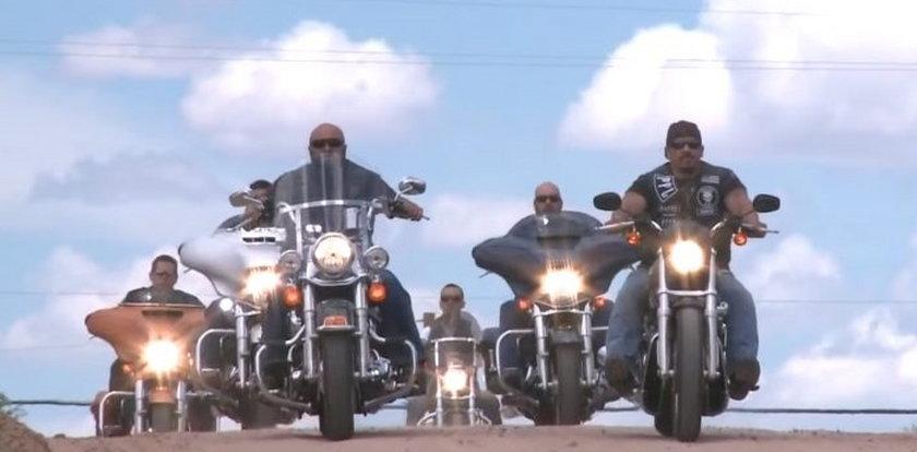 Gang motocyklistów ratuje 5-latkę