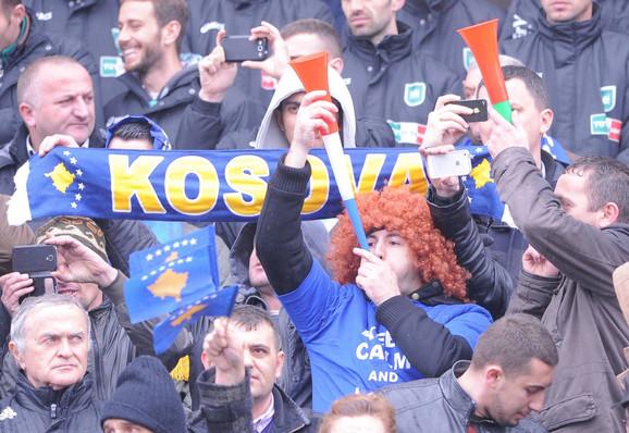 Navijači kosovske selekcije