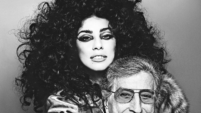 Lady GaGa w studiu z Tonym Bennettem