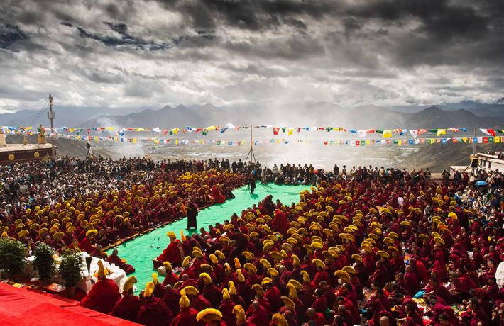 CHINA-TIBET-DREPUNG MONASTERY-600TH ANNIVERSARY(CN)
