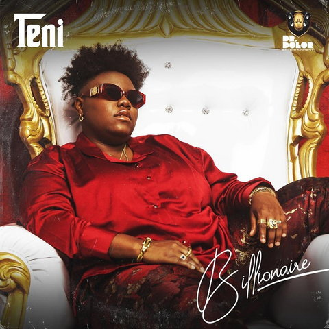 Teni recently released a new single and EP titled, 'Billionaire.' (Instagram/TeniTheEntertainer)