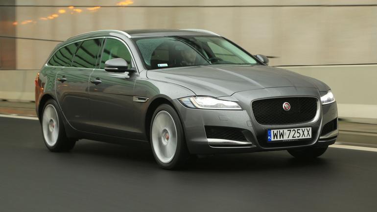 Jaguar XF Sportbrake - ładny, zwinny i rodzinny