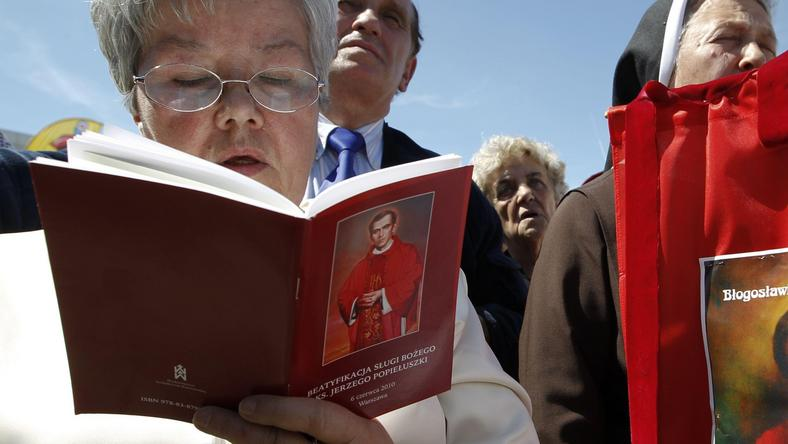 Msza beatyfikacyjna ks. Jerzego Popiełuszki, fot. Reuters