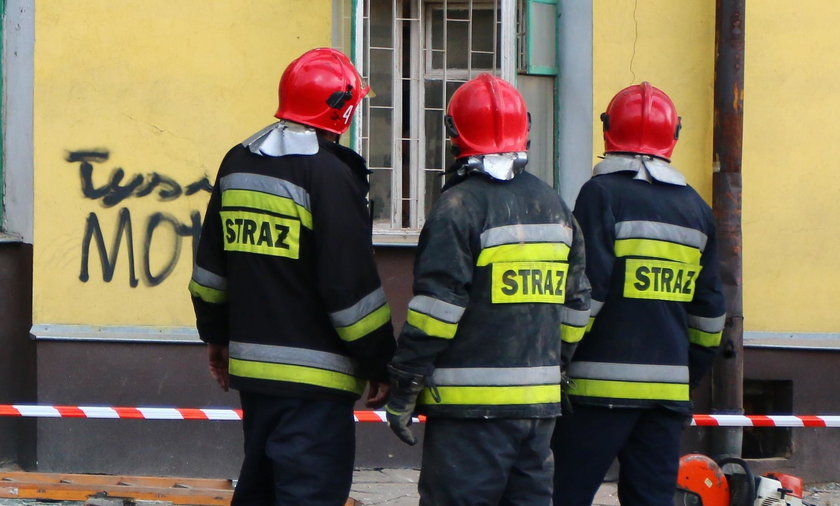 Wybuch gazu w lokalu gastronomicznym w Legnicy. Są ranni