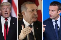 erdogan tramp makron