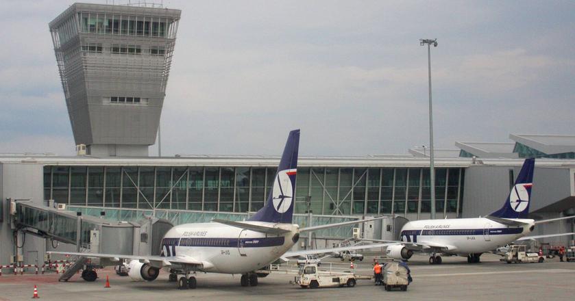 Centralny Port Komunikacyjny ma zastąpić warszawskie Lotnisko Chopina, którego przepustowość się wyczerpuje