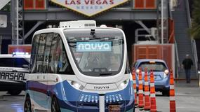 Autonomiczne autobusy na ulicach Las Vegas