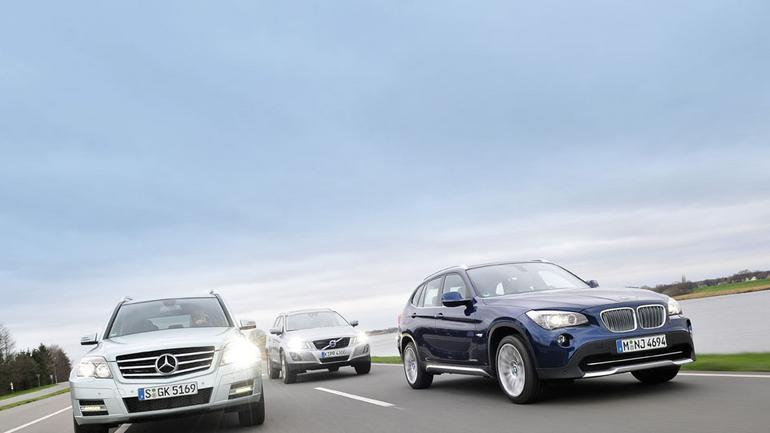 Tani sport? BMW X1 kontra Volvo XC60 i Mercedes GLK