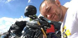 Juras miał wypadek na motocyklu! Trafił z dziewczynądo szpitala