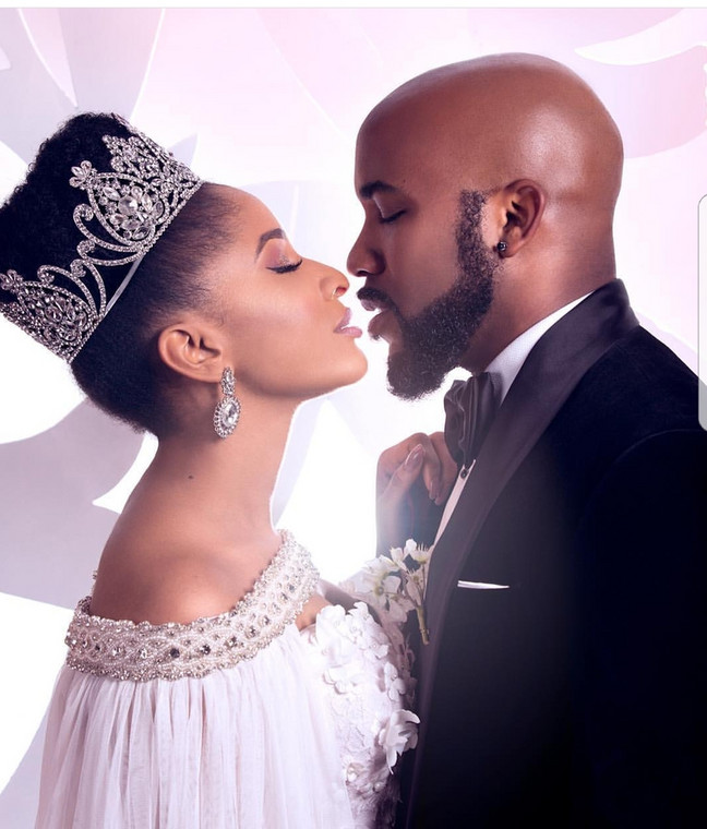 Banky W and Adesua both featured in the Wedding Party movies. The first is seen as the precursor to their relationship. [Credit: Sabi News]