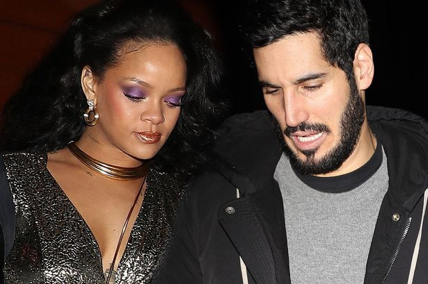 Rihanna and her boyfriend, Hassan Jameel (Mirror)