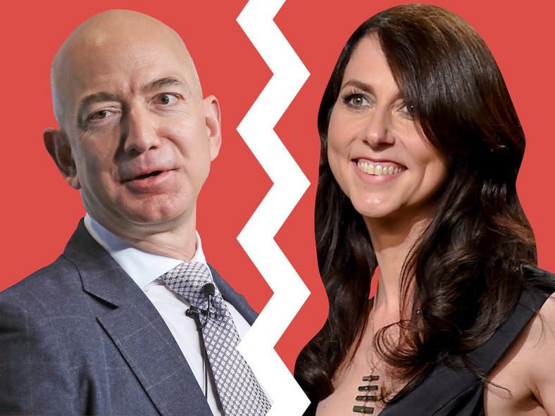 Jeff Bezos' and Lauren Sanchez's spouses knew about their