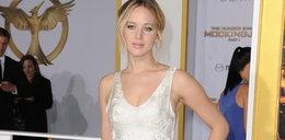 Wpadka! Jennifer Lawrence w bajkowej kreacji i...