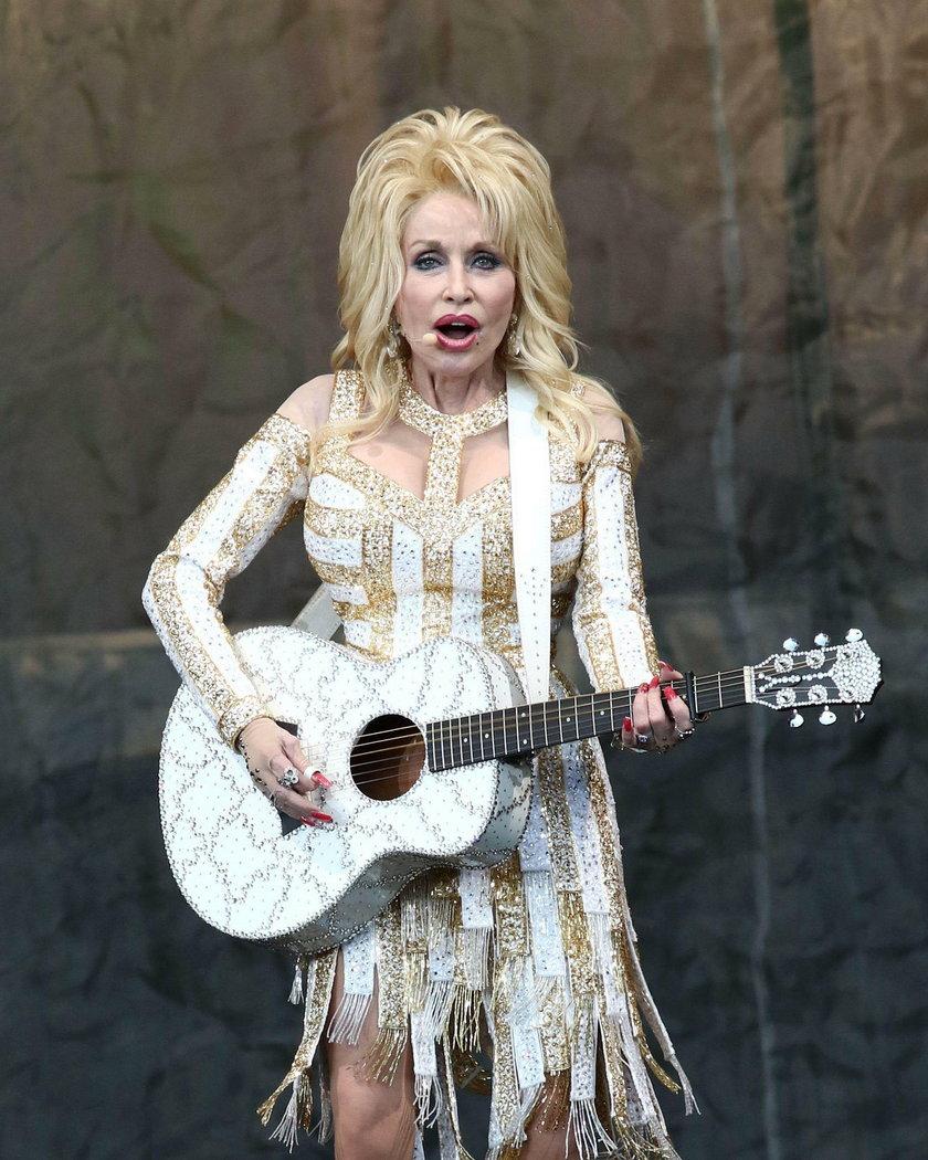 Dolly Parton cztery lata temu