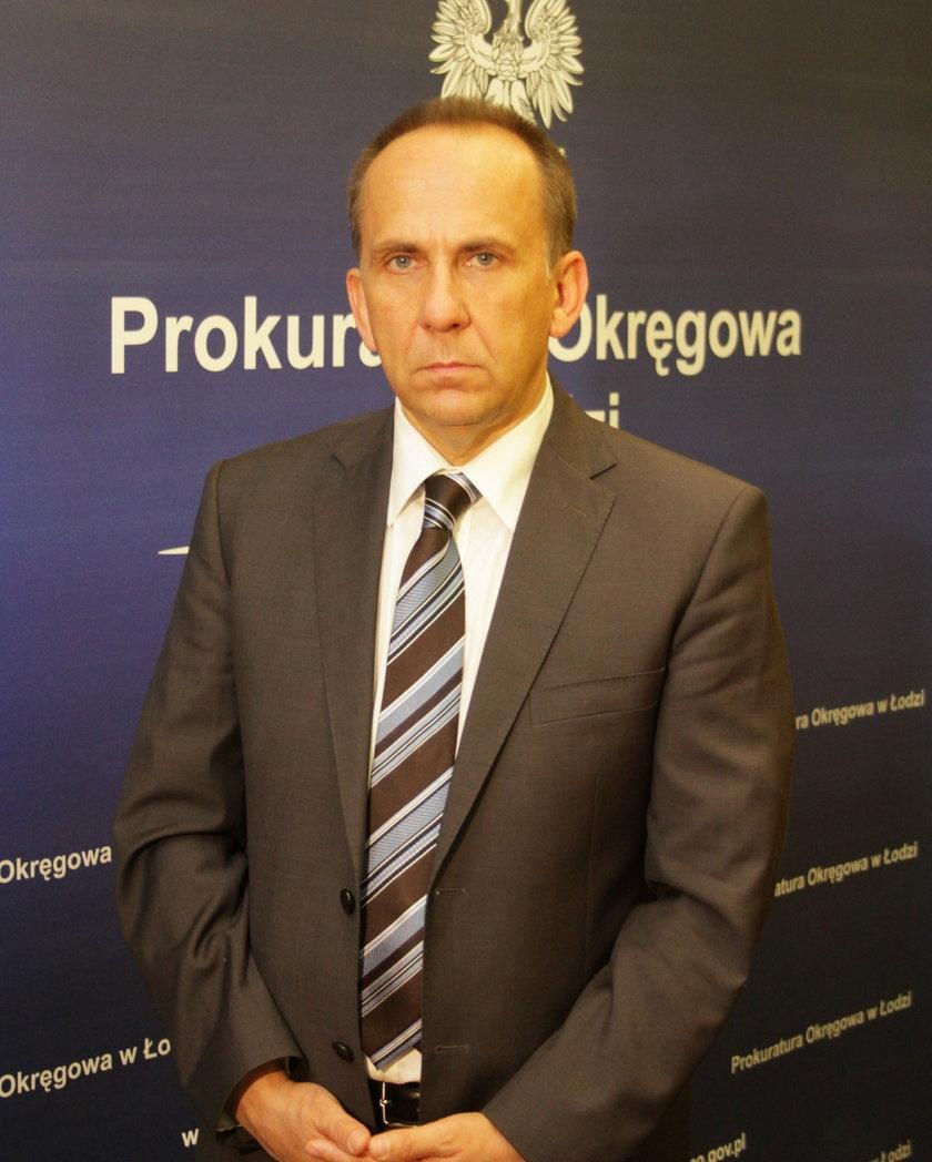 Krzysztof Kopania, rzecznik Prokuratury Okręgowej w Łodzi