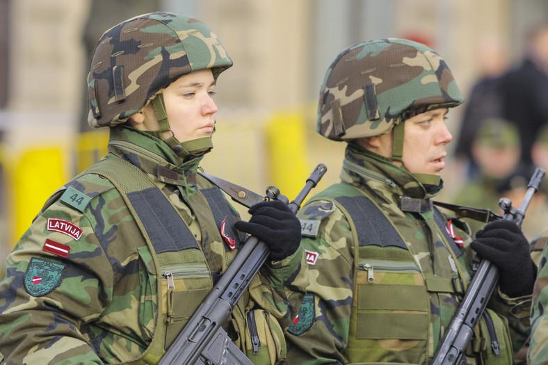 Łotewska armia