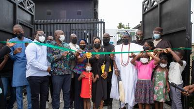 Nigeria's Minister of Youth and Sports Sunday Dare pledges to sponsor the training of 1000 youths at Ogidi Studios