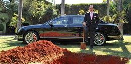 Bogacz chciał pochować się z autem za milion złotych