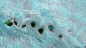 Na zdjęciach satelitarnych widać wiry i spirale. Jak powstają?