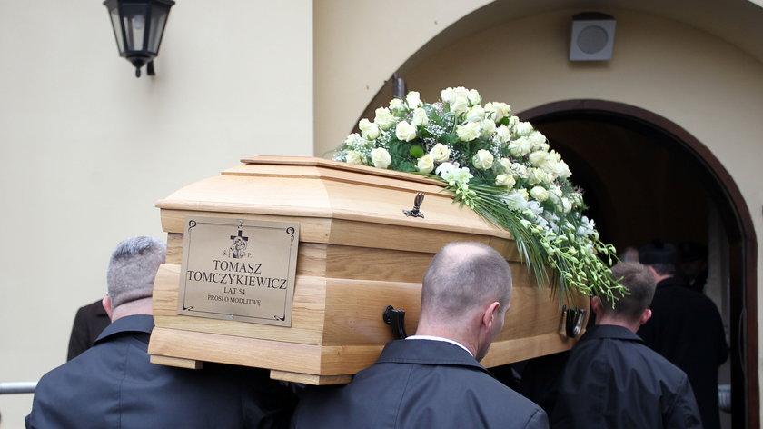 Pszczyna. Pogrzeb Tomasza Tomczykieiwcza (†54l.)