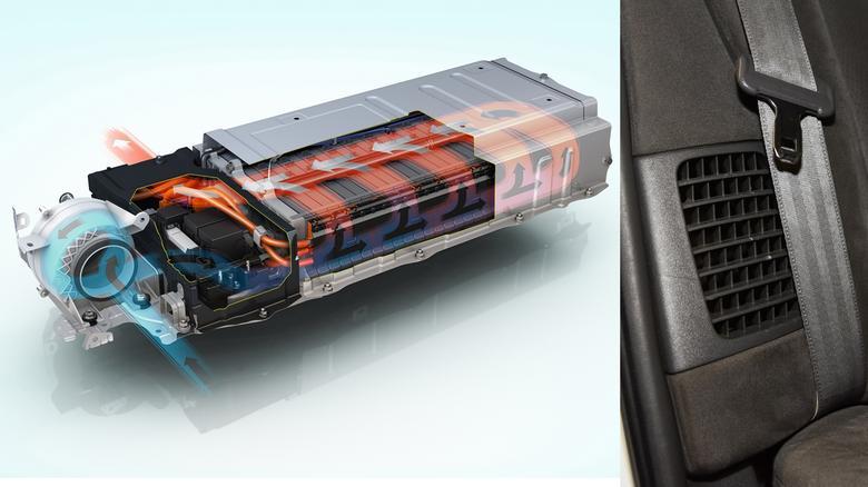 Akumulator ma powietrzny system chłodzenia. Warto dbać o czystość filtrów (wlot powietrza obok kanapy).