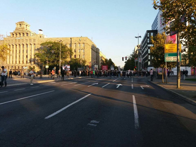 Ubrzo su ovim putem prošetali učesnici Parade ponosa