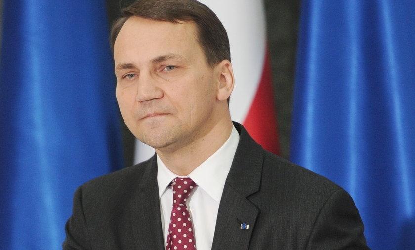 Konferencja Prasowa Radosława Sikorskiego