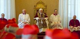 Po tych słowach Benedykta XVI kardynałowie stracili wiarę w...