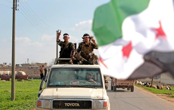 Slobodna sirijska vojska blizu Afrina