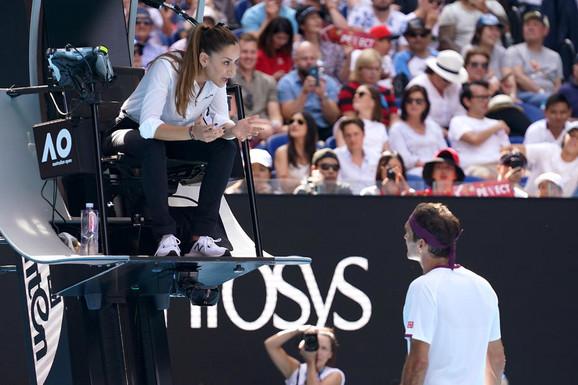 Marijana Veljović, Rodžer Federer