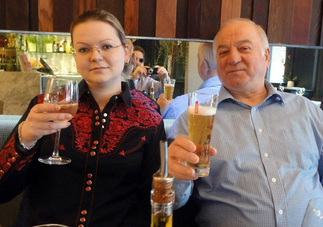 Sergej i Julija Skripalj