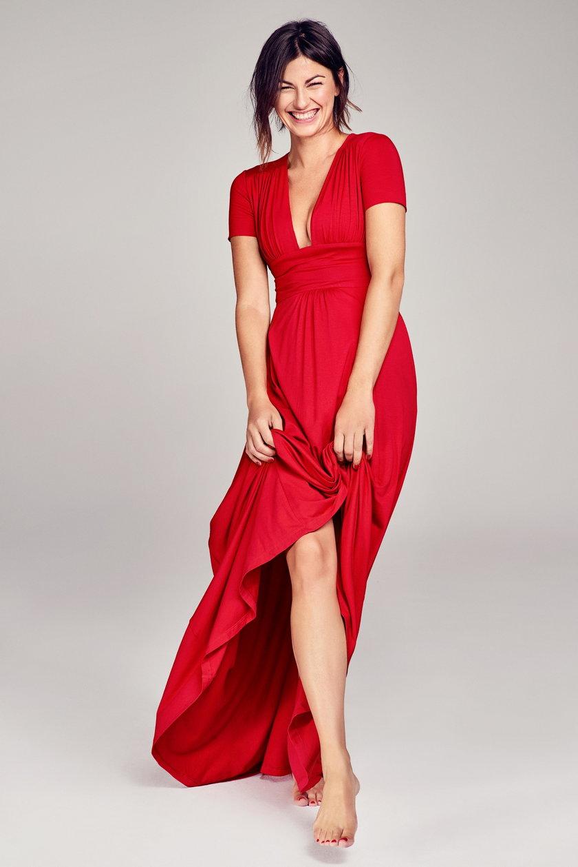 ... a w czerwonej kolekcji – przepiękne sukienki, między innymi VESPER HAPPY RED.