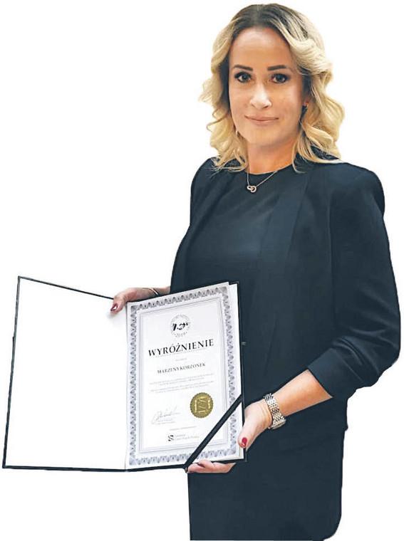 Marzena Korzonek, prezes Sądu Rejonowego w Raciborzu.