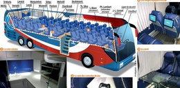 Piłkarski gigant ma autobus z kosmosu! Zobacz zdjęcia