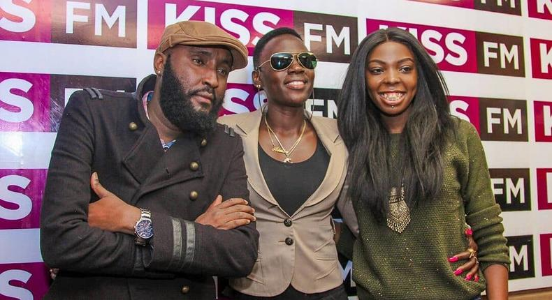 Shaffie Weru ,Adelle Onyango and Akothee