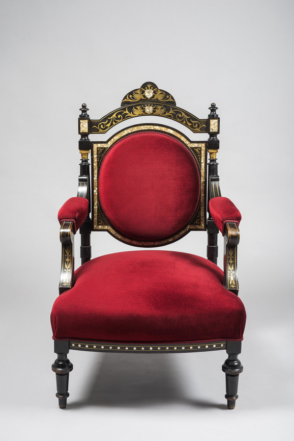 Fotelja, ampir, Naoleon III, 1870.