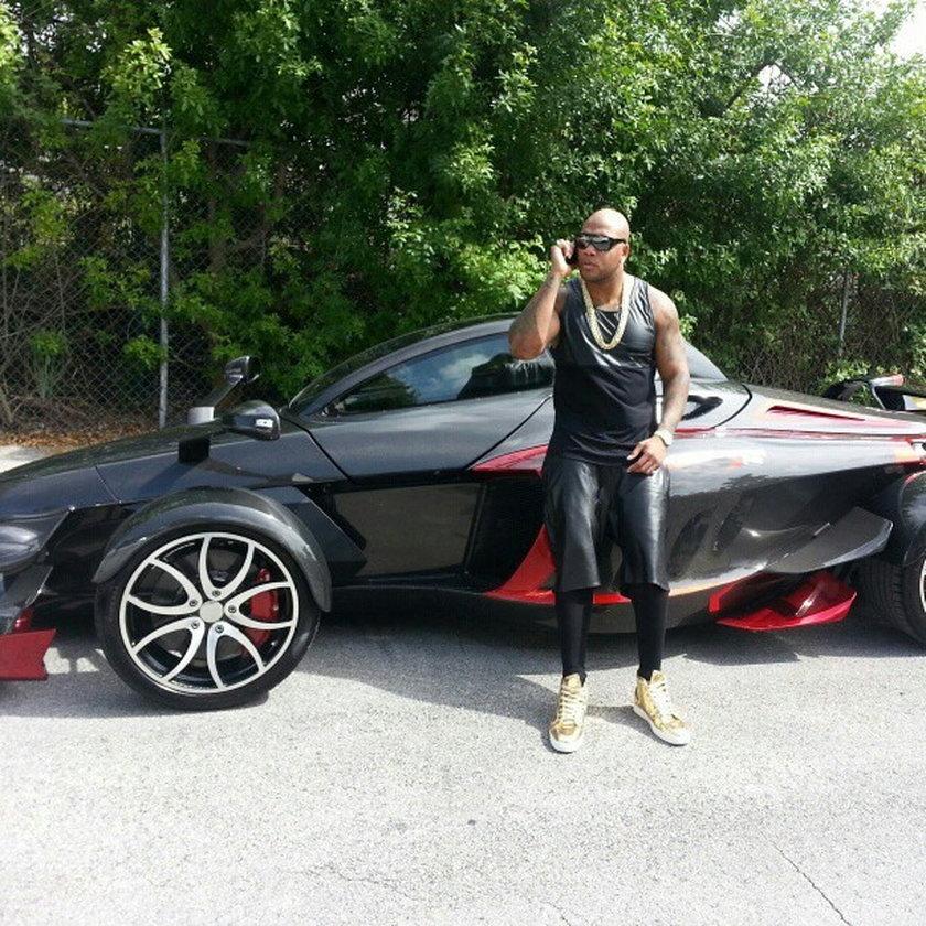 Flo Rida samochód